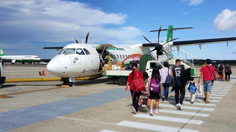 疫情升溫,澎湖觀光客明顯減少許多。中央社