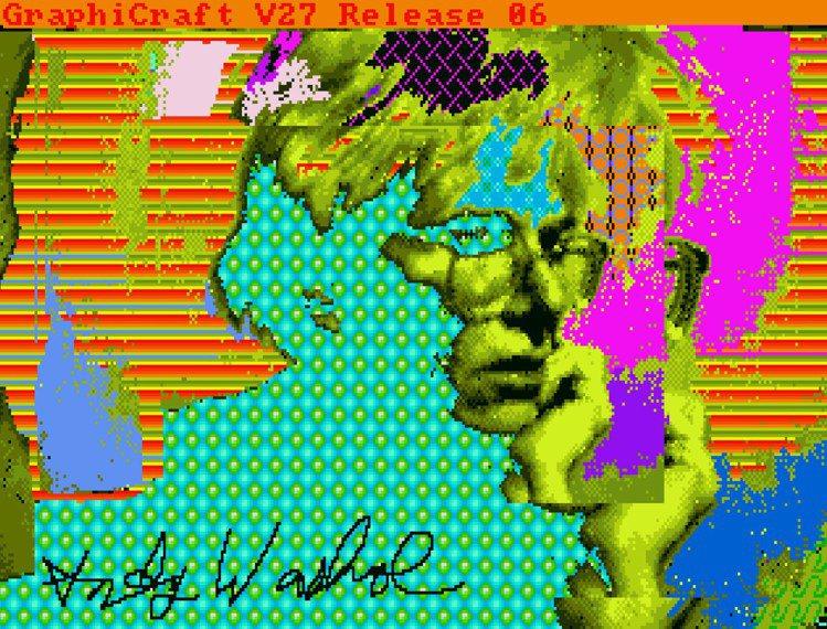 安迪沃荷「無題(花)」,NFT 4500 x 6000 pixels (byte...