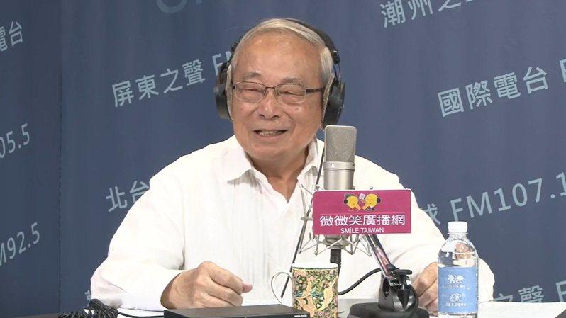 總統府資政張俊雄在阿扁總統時期擔任兩任行政院長,推動許多重要政策。記者徐白櫻/翻攝