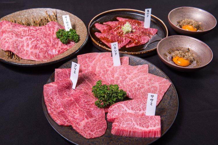 俺達の肉屋是日本和牛專門店,將和牛的油花與赤身部位,詮釋出美妙的起承轉合。圖/俺...