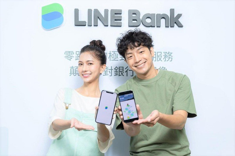 LINE Bank夢想帳戶推出「雙倍利HIGH」高利定存,存款利率三階加碼利息再翻倍,平均利率約2.08%。圖/LINE  Bank提供