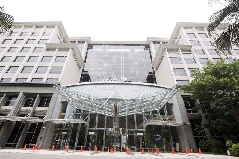 諾富特飯店重啟首日共44機組員入住。圖/報系資料照