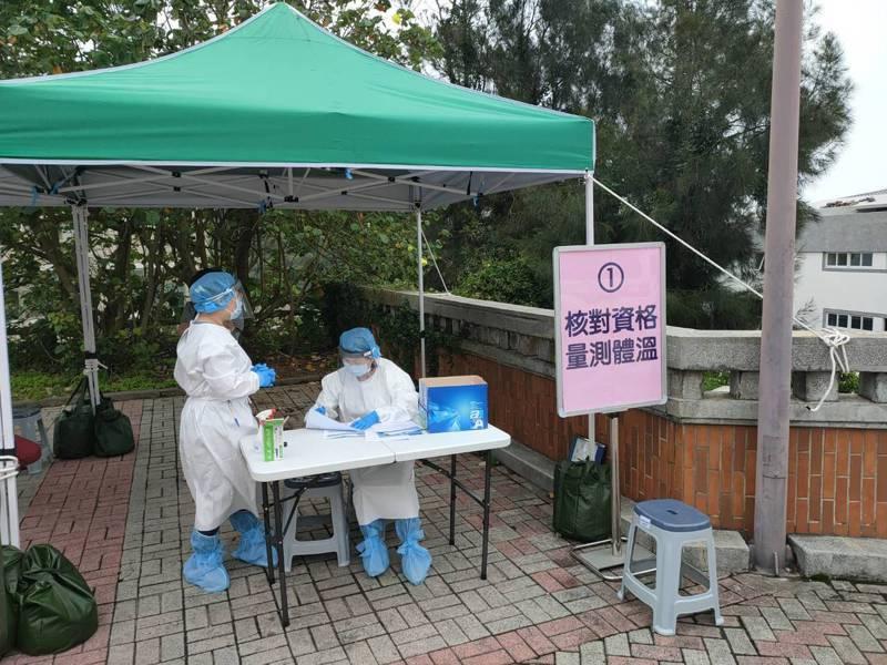 馬祖地區一度驚傳3人快篩結果呈陽性,幸好經PCR檢測後改為陰性,並無確診。圖/連江縣政府提供