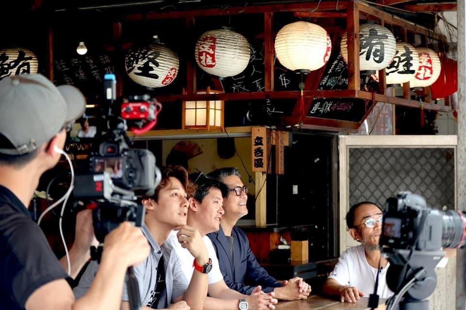 廖科溢、謝哲青、工頭堅都是旅遊達人。圖/亞洲旅遊台提供
