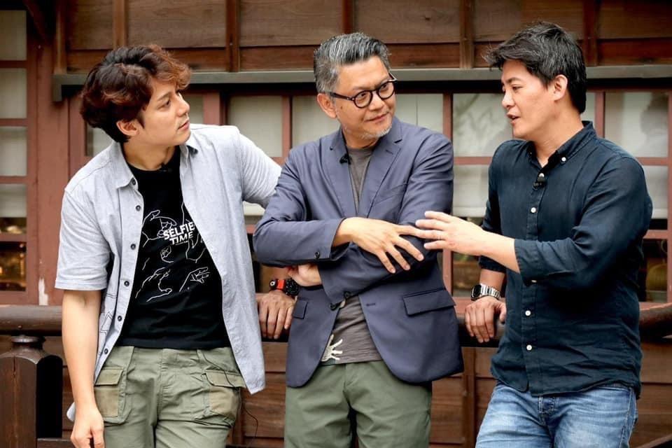 廖科溢、謝哲青、工頭堅成為無話不談的好友。圖/亞洲旅遊台提供