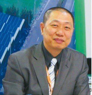 太陽光電發電系統公會理事長蔡宗融。翁永全/攝影