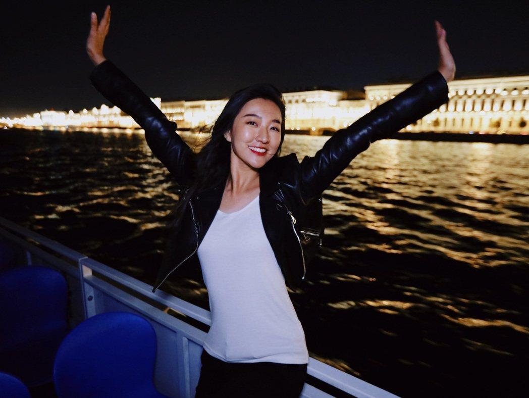 劉沛穎很早就訂下明確志向。圖/亞洲旅遊台提供