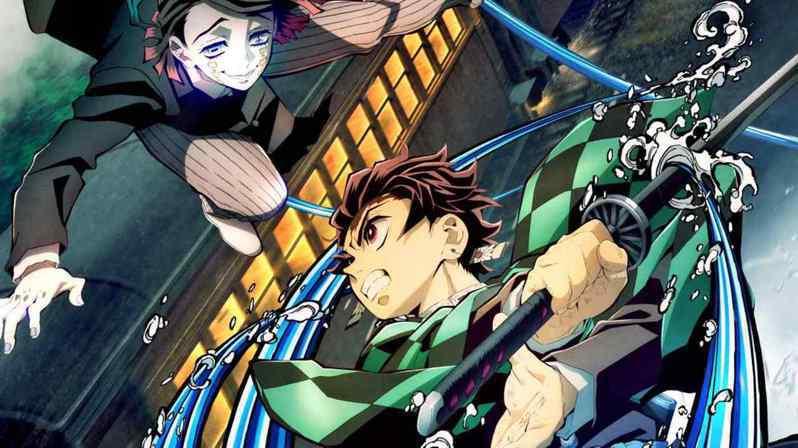 日本「鬼滅之刃」動畫系列作品在多國颳起旋風。 (網路照片)