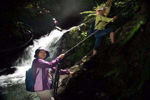 楊淑貞喜歡拍照,上山下海,走哪裡就拍到哪,拍風景、人物,還可以練身體。 圖/楊淑...