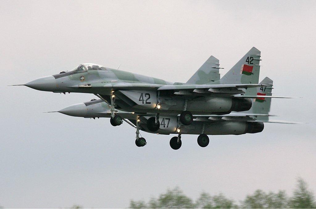 圖為MIG-29戰鬥機示意圖。 圖/維基共享