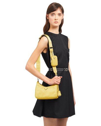 Prada旗下尼龍材質系列商品都具備防潑水功能,而且包款尺寸、款式、顏色也豐富。...