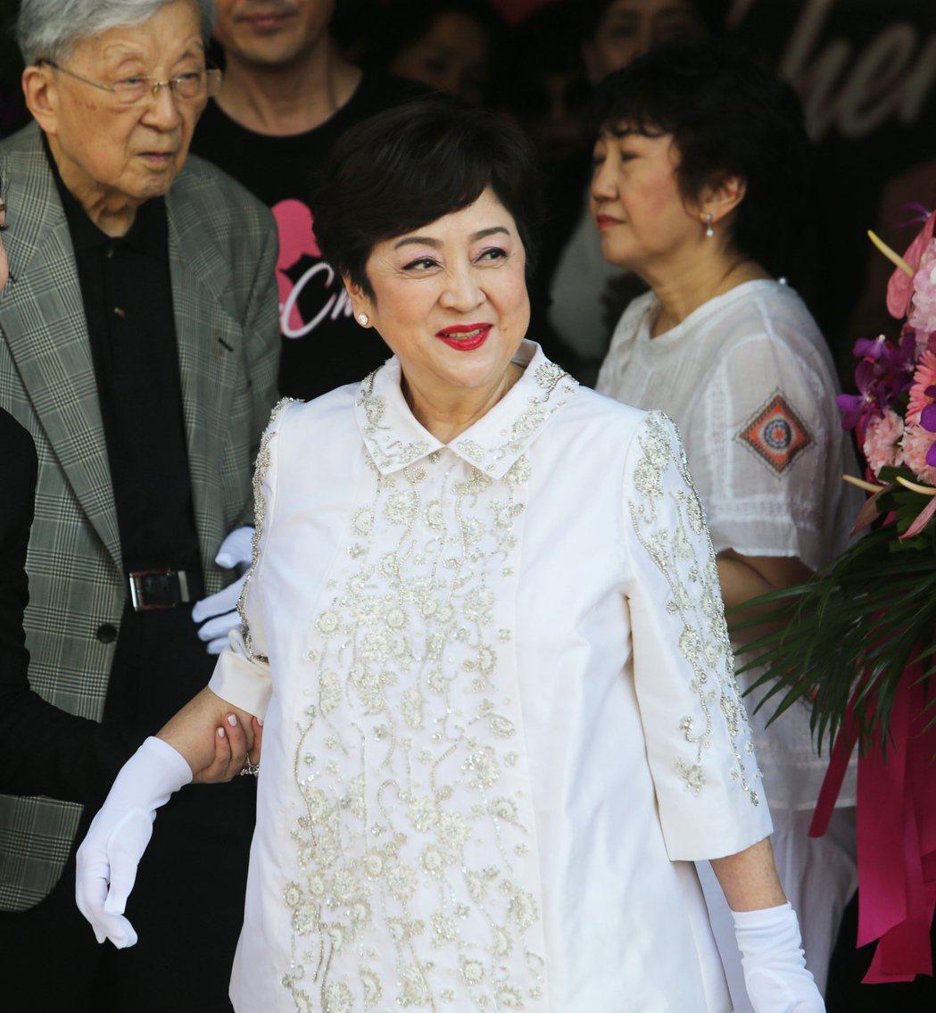 甄珍之前在香港動了腦部手術,沒有驚動外界。圖/聯合報系資料照