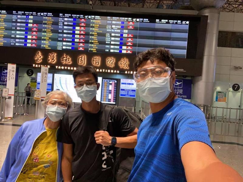 盧彥勳隻身前往法國,備戰月底登場的法網公開賽。 圖擷自盧彥勳臉書