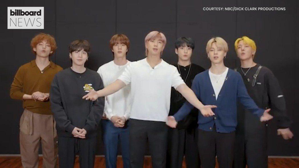 防彈少年團(BTS)在告示牌音樂獎」奪得4個獎項。 圖/擷自billboard網