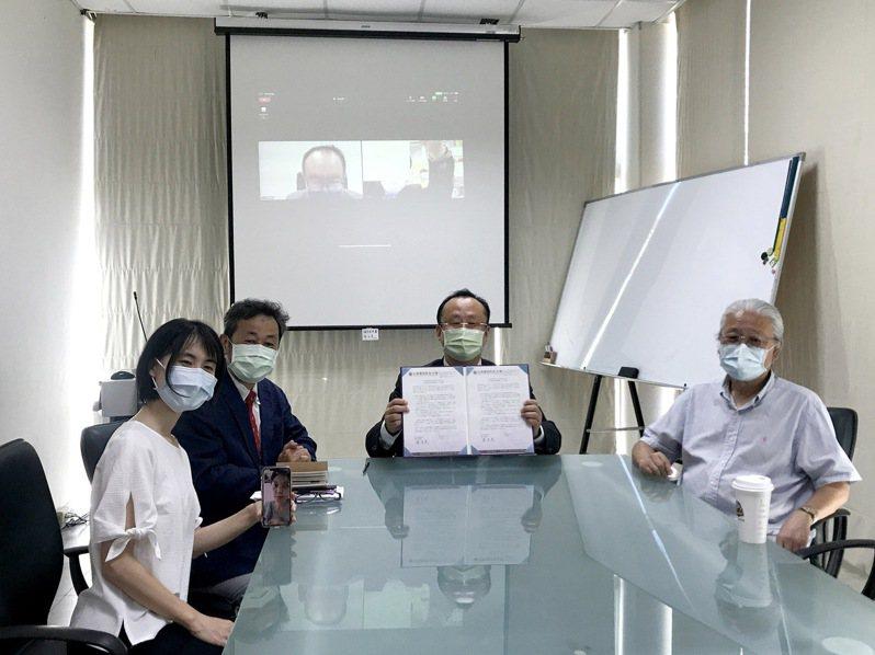 台南應用科大日商漫畫公司合作,招收學生前往實習就業。圖/校方提供