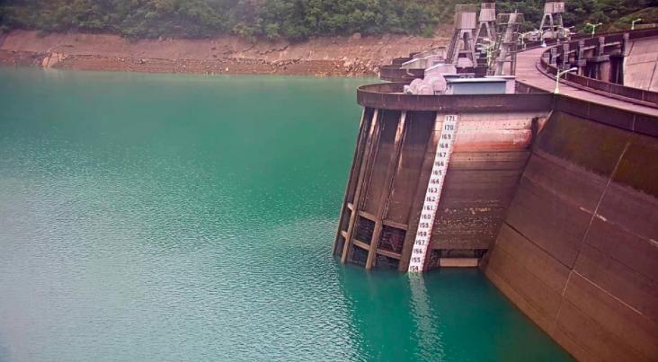 台北翡翠水庫管理局表示,依據中央氣象局長期降雨預報及需水量評估結果,翡翠水庫未來三個月供水無虞。圖/翡翠水庫管理局提供