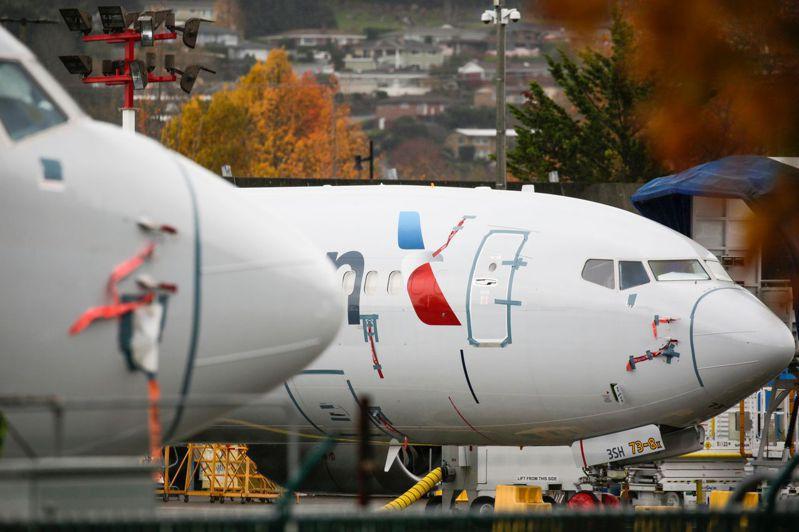 IATA新掌门瓦许认为,航空业规模将在疫情危机后变小,图为波音生产的737 MAX飞机。法新社(photo:UDN)