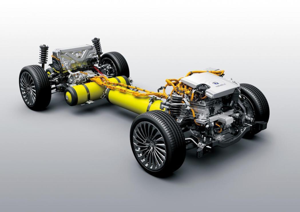 氫能源動力為Toyota集團致力的新能源模式。 摘自motor-fan.jp