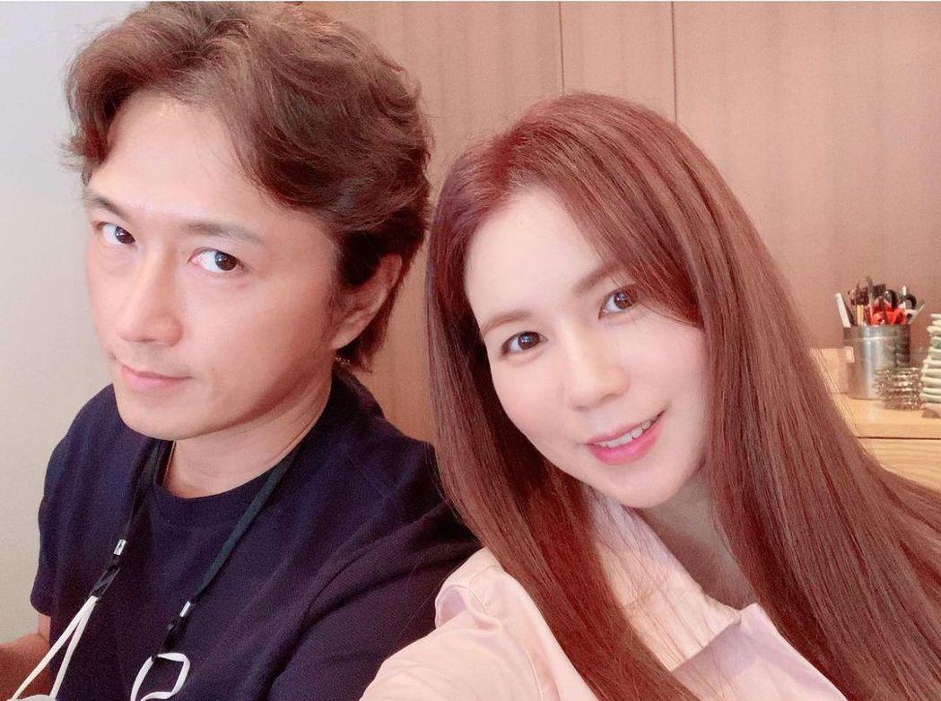 陳泰賢與朴詩恩。圖/擷自IG