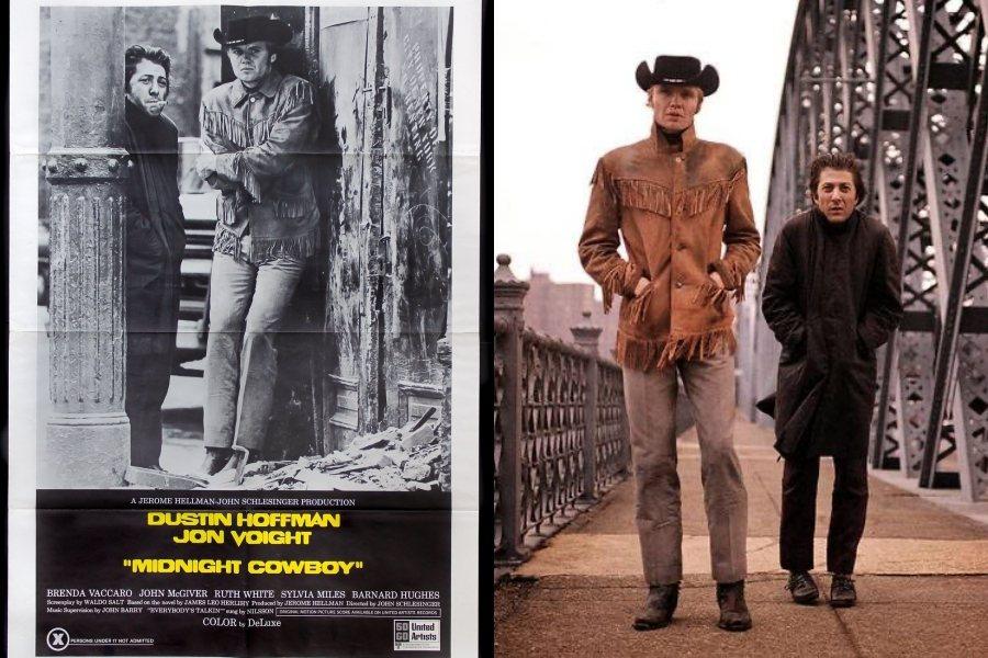 《午夜牛郎》是史上第一部被評級為X級,並獲得奧斯卡最佳影片的電影。該片一開始其實是被MPAA評級為R,但因為同志情節等場面,最終首映時仍被定為X級,直到奧斯卡獲獎後才「解禁」。 圖/電影《午夜牛仔》海報、IMDb