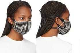 驚豔!五款美到新高度的口罩~水鑽刺繡根本媲美訂製服