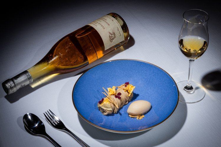 「龍喜栗」搭配Domaine de la Taille aux Loups酒莊黛...
