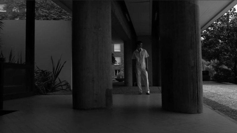 Peter Wu春夏形象影片於法國巴黎大學城內的瑞士閣樓拍攝。圖/Peter Wu提供