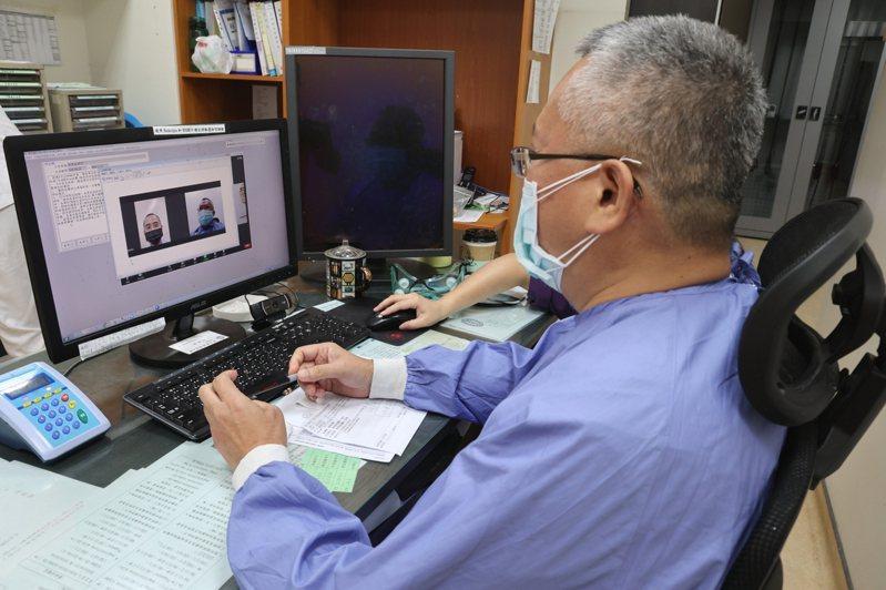 員林市疫情升溫,員榮醫療體系即日起採視訊診療。圖/員榮提供
