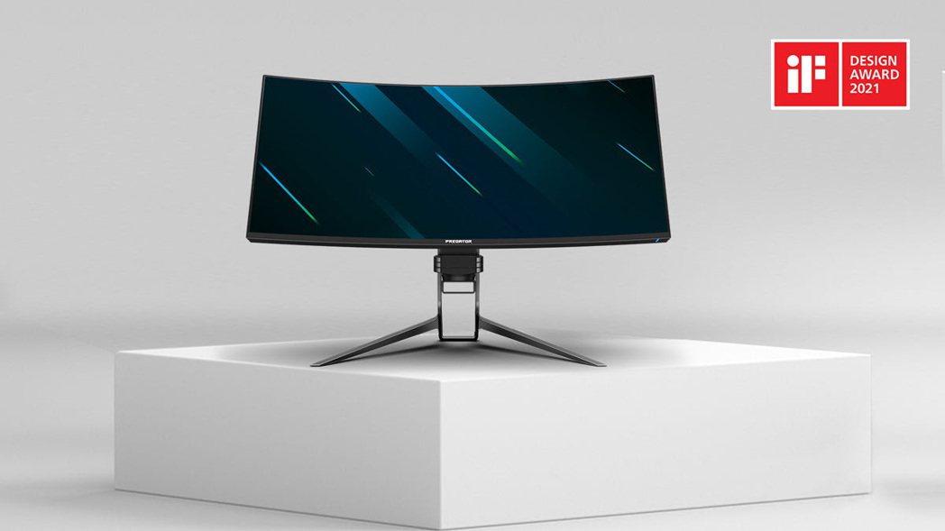 宏碁旗下ConceptD、Predator系列產品獲2021年iF設計獎,圖為P...