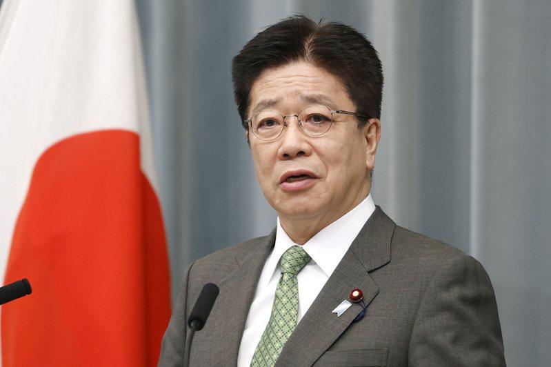 日本官房長官加藤勝信指,美國支持日本舉辦東奧的立場沒有改變。美聯社