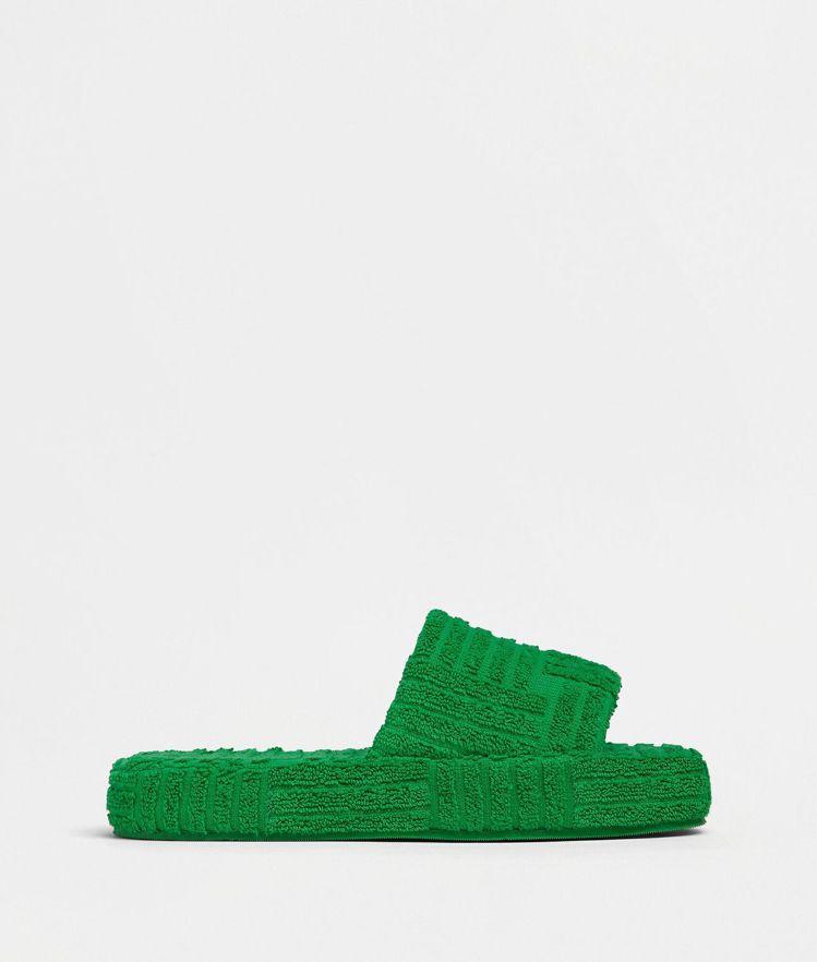棉質厚底室內拖鞋,16,100元。圖/Bottega Veneta提供