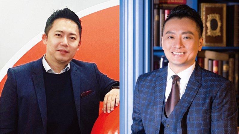 高雄鋼鐵人領隊吳同喬(左)與總經理鄭明元。圖/高雄鋼鐵人提供