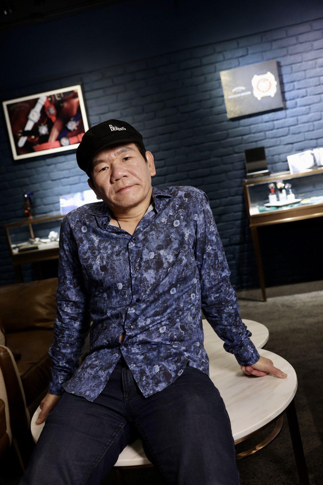 趙傳砸下千萬成本,製作全新專輯「老不休」。記者李政龍/攝影