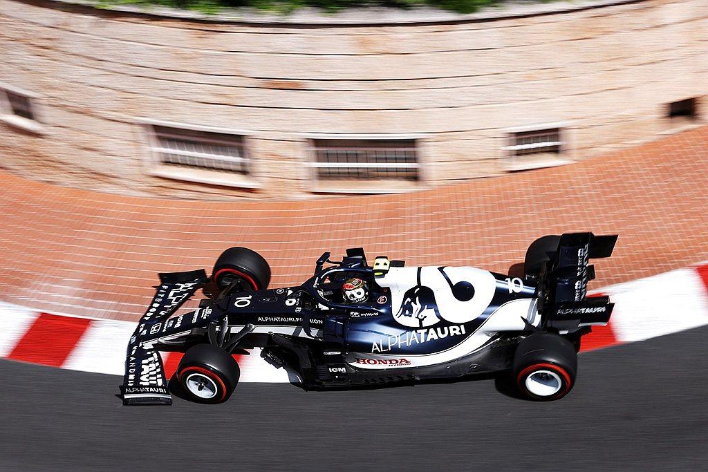 Scuderia AlphaTauri Honda F1車手Pierre Gas...