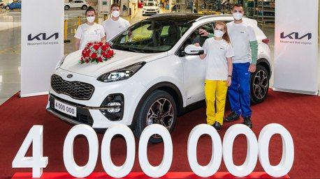 Sportage、Ceed Family熱賣助攻 Kia斯洛伐克廠400百萬輛生產里程碑達成!