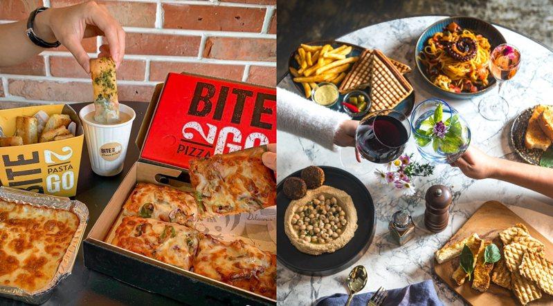 圖/BITE 2 GO 義式快餐店臉書專頁、Toasteria Cafe臉書專頁