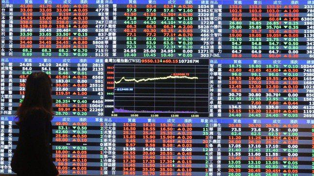 股價走勢往往是法人角力的結果。記者許正宏/攝影