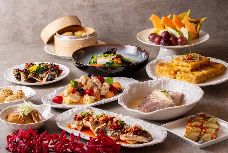 西華飯店外賣餐點:合菜饗宴。 業者/提供