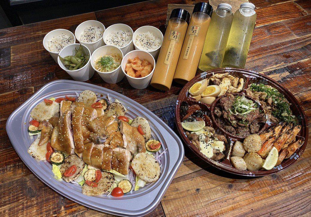 消費者可吃得到高品質牛、雞、豬、羊、蔬菜、海鮮通通有,另外還有搭配湯品、沙拉、飲...