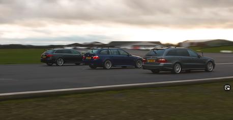 影/德國超級旅行車之戰! Audi渦輪對上M.Benz機械增壓、自然進氣BMW!