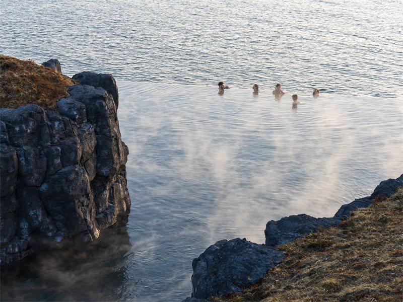海洋溫泉  稀有的享受 / 來源:SkyLagoonIceland