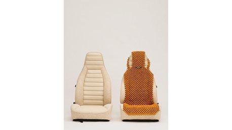 木珠汽車椅墊也是時尚?Porsche 911 SC藝術成分很高的!
