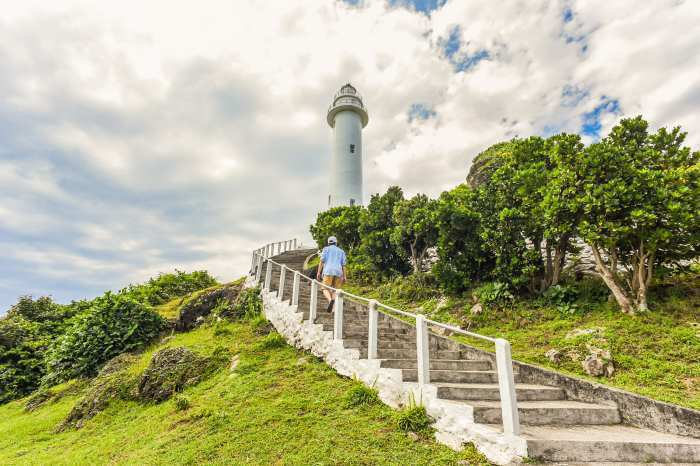 綠島燈塔。 圖/shutterstock