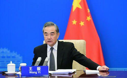 中國大陸國務委員兼外長王毅出席慕尼黑安全會議中國專場活動並發表演講。大陸外交部網站