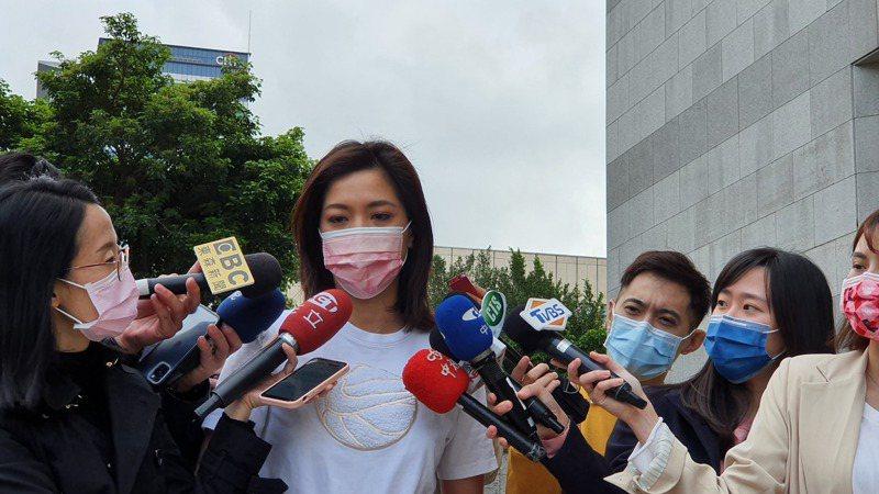 台北市議員鍾沛君。記者楊正海/攝影。