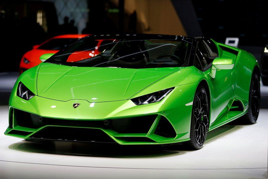 超跑品牌藍寶堅尼(Lamborghini)。(路透)