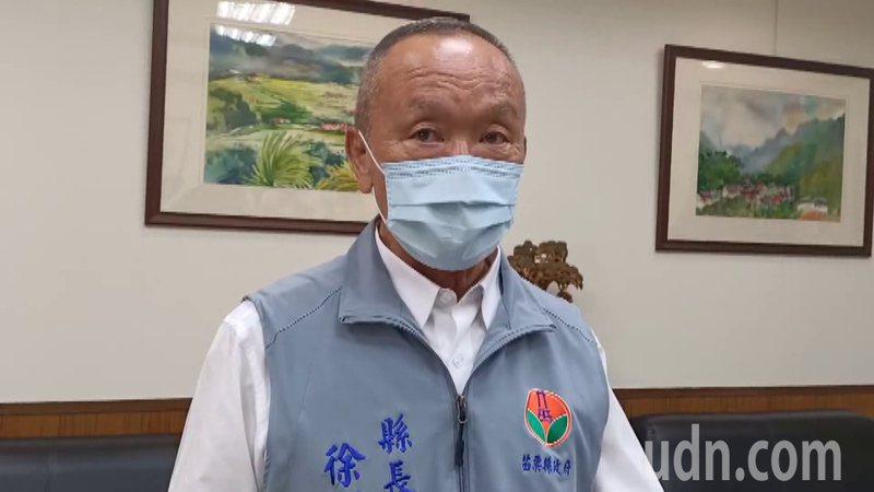 苗栗縣長徐耀昌今天受訪,表達疫苗採購尊重中央的看法。圖/苗栗縣政府提供