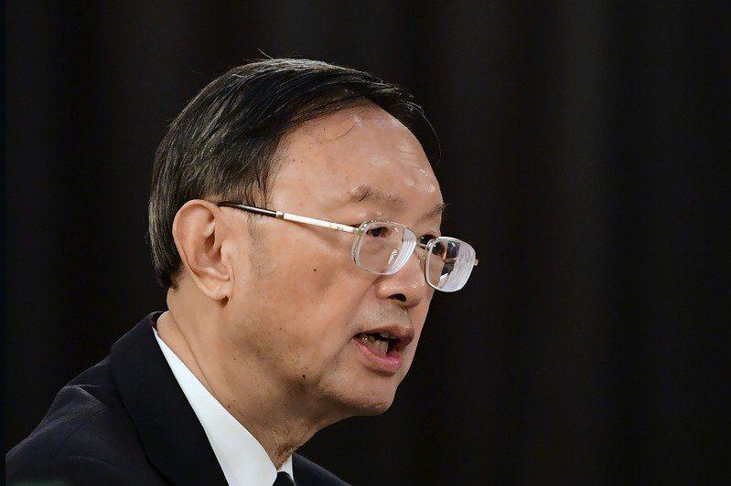 中共中央外事工作委員會辦公室主任楊潔篪。 美聯社
