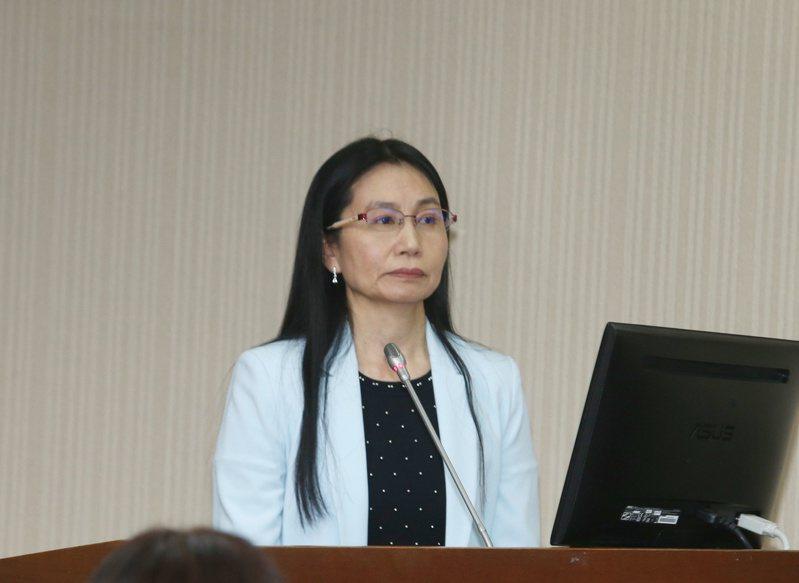 食藥署署長吳秀梅。圖/聯合報系資料照片