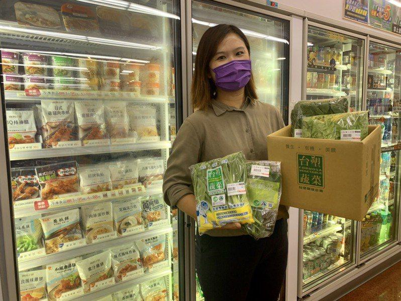 7-ELEVEN推出超過十款不同種類組合的「蔬果箱」。7-ELEVEN/提供